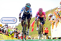 11th September 2020; Chatel-Guyon to Puy Marie Cantal, France;   BERNAL GOMEZ Egan Arley (COL) of TEAM INEOS during stage 13 of the 107th edition of the 2020 Tour de France cycling race, a stage of 191,5 km with start in Chatel-Guyon and finish in Puy Marie Cantal on September 11, 2020