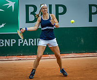 Paris, France, 26 May, 2019, Tennis, French Open, Roland Garros, Kiki Bertens at practise<br /> Photo: Henk Koster/tennisimages.com