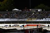 #11: Denny Hamlin, Joe Gibbs Racing, Toyota Camry FedEx Throwback Toyota Camry and #24: William Byron, Hendrick Motorsports, Chevrolet Camaro AXALTA Throwback