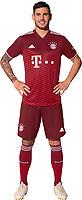 29th August 2021; Munich, Germany; FC Bayern Munich official team portraits for season 2021-22:  Tanguy Nianzou