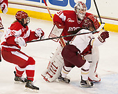 Connor Galway (BU - 26), Erin O'Neil (BU - 31), Kristyn Capizzano (BC - 7) - The Boston College Eagles defeated the visiting Boston University Terriers 5-3 (EN) on Friday, November 4, 2016, at Kelley Rink in Conte Forum in Chestnut Hill, Massachusetts.The Boston College Eagles defeated the visiting Boston University Terriers 5-3 (EN) on Friday, November 4, 2016, at Kelley Rink in Conte Forum in Chestnut Hill, Massachusetts.