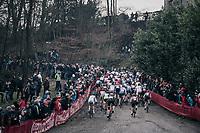 Women's race start<br /> <br /> UCI CX World Cup Namur / Belgium 2017