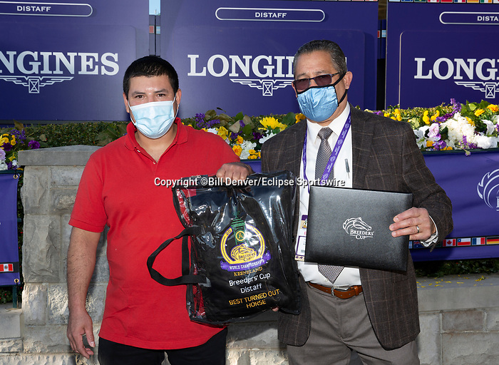 November 7, 2020 : Best Turned Out horse, Longines Distaff on Breeders' Cup Championship Saturday at Keeneland Race Course in Lexington, Kentucky on November 7, 2020. Bill Denver/Breeders' Cup/Eclipse Sportswire/CSM