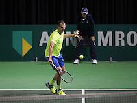 Rotterdam, Netherlands, 11 februari, 2017, ABNAMROWTT,  Qualyfying round,  Marius Copil (ROU)<br /> Photo: Henk Koster