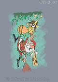 Fabrizio, Comics, CHRISTMAS SANTA, SNOWMAN, WEIHNACHTSMÄNNER, SCHNEEMÄNNER, PAPÁ NOEL, MUÑECOS DE NIEVE, paintings+++++,ITFZ97,#x#