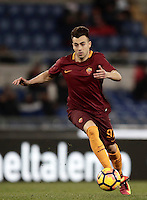 Calcio, ottavi di finale di Tim Cup: Roma vs Sampdoria. Roma, stadio Olimpico, 19 gennaio 2017.<br /> Roma's Stephan El Shaarawy in action during the Italian Cup round of 16 football match between Roma and Sampdoria at Rome's Olympic stadium, 19 January 2017.<br /> UPDATE IMAGES PRESS/Isabella Bonotto
