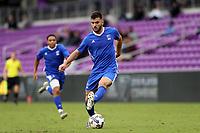 Orlando, Florida - Saturday January 13, 2018: Afonso Pinheiro. Match Day 1 of the 2018 adidas MLS Player Combine was held Orlando City Stadium.
