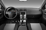 Stock photo of straight dashboard view of 2008 Volvo C30 T5 Version 2.0 2 Door Coupe