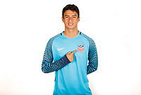 BRADENTON, FL - September 21, 2017: The U.S. Men's U-17 National team portraits at IMG Academy.
