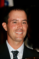 August 15, 2005, Montreal (Qc) Canada<br /> <br /> Mike Weir, Canadian Golf Champion<br /> annouce the 2007 President's Cup will be held in Montreal.<br /> Photo : (c) 2005 Pierre Roussel