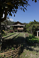 ethnic tribe house  in Chiang Mai Province