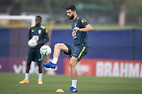 11th November 2020; Granja Comary, Teresopolis, Rio de Janeiro, Brazil; Qatar 2022 qualifiers; Felipe of Brazil during training session in Granja Comary