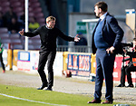 Inverness Caley v St Johnstone…08.04.17     SPFL    Tulloch Stadium<br />Richie Foran goes nuts<br />Picture by Graeme Hart.<br />Copyright Perthshire Picture Agency<br />Tel: 01738 623350  Mobile: 07990 594431