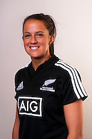 Charmaine Smith. New Zealand Black Ferns headshots at The Rugby Institute, Palmerston North, New Zealand on Thursday, 28 May 2015. Photo: Dave Lintott / lintottphoto.co.nz