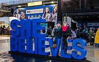 Columbus, Ohio - Thursday March 01, 2018: SheBelieves Cup Fans during a 2018 SheBelieves Cup match between the women's national teams of the United States (USA) and Germany (GER) at MAPFRE Stadium.