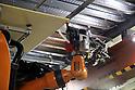 Shimizu demonstrates welding robot Robo-Welder
