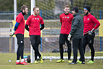 St Johnstone Training, McDiarmid Park, Perth……05.02.18<br />