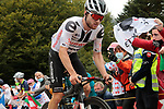 Marc Hirschi (SUI) Team Sunweb out front climbs Col de Marie Blanque during Stage 9 of Tour de France 2020, running 153km from Pau to Laruns, France. 6th September 2020. <br /> Picture: Colin Flockton   Cyclefile<br /> All photos usage must carry mandatory copyright credit (© Cyclefile   Colin Flockton)
