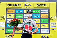 11th September 2020; Chatel-Guyon to Puy Marie Cantal, France;   SCHACHMANN Maximilian (GER) of BORA - HANSGROHE during stage 13 of the 107th edition of the 2020 Tour de France cycling race, a stage of 191,5 km with start in Chatel-Guyon and finish in Puy Marie Cantal on September 11, 2020