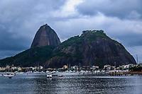 16/10/2020 - CÉU NUBLADO NO RIO DE JANEIRO