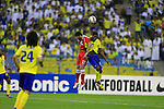 Al Nassr vs Persepolis during the 2015 AFC Champions League Group A match on March 17, 2015 at the Prince Fahad International Stadium in Riyadh, Saudi Arabia. Photo by Adnan Hajj / World Sport Group
