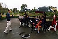 HRH Prince Edward, The Earl of Wessex has visited the National Botanic Gardens of Wales in Llanarthney, Carmarthenshire, for the Duke of Edinburgh Awards. Thursday 21 September 2017
