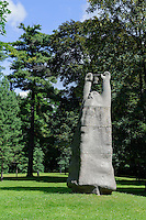 Plastik im Park von Schloss Raudondvaris, Litauen, Europa