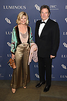 Glynnis Barber and Michael Brandon<br /> arriving for the LUMINOUS Gala 2019 at the Roundhouse Camden, London<br /> <br /> ©Ash Knotek  D3522 01/10/2019