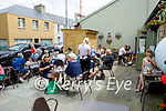 Outdoor dining area in the Coast Cafe in Ballybunion on Sunday