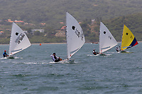 BARRANQUILLA - COLOMBIA, 24-07-2018: Agustin Lazaro (Puerto Rico) durante su participación en las competencias de Vela, modalidad sunfish hombres, como parte de los Juegos Centroamericanos y del Caribe Barranquilla 2018. /  Agustin Lazaro (Puerto Rico) during his participation in the competitions of sailing, men's sunfish mode, as a part of the Central American and Caribbean Sports Games Barranquilla 2018. Photo: VizzorImage / Cont