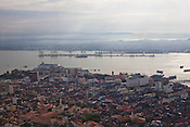 An overview of capital Georgetown of Penang, Malaysia. Photo: Sanjit Das/Panos