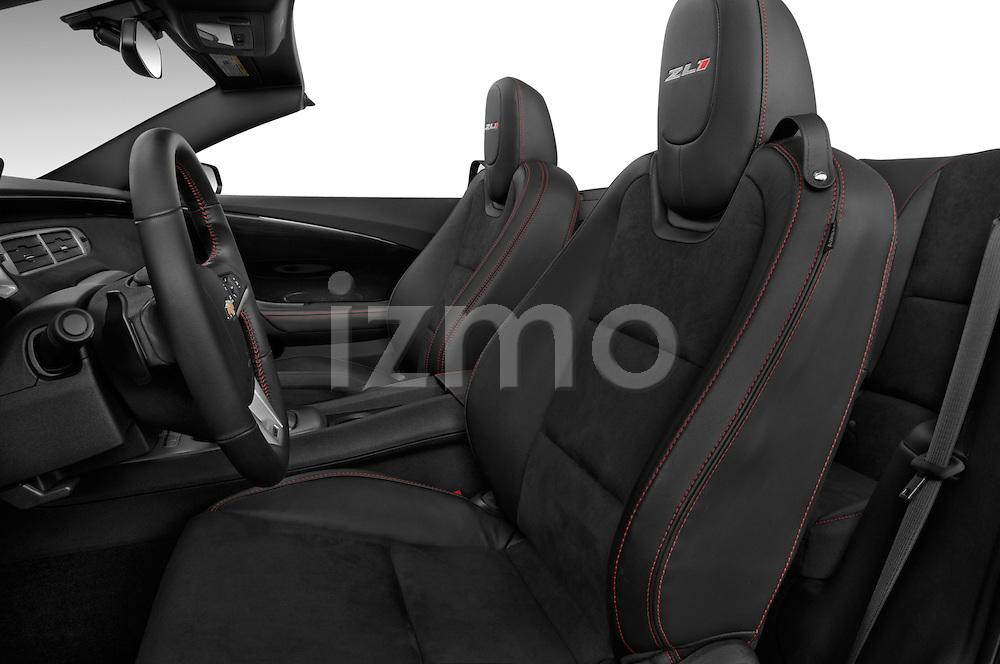 2013 Chevrolet Camaro Convertible ZL1 5a Front Seat