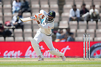 Ravindra Jadeja, India drivers through cover point for runs during India vs New Zealand, ICC World Test Championship Final Cricket at The Hampshire Bowl on 23rd June 2021