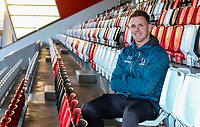 Monday 23rd December 2019 | Ulster Rugby Match Briefing<br /> <br /> Ulster Rugby wing Craig Gilroy at the Match Briefing held at Kingspan Stadium, Belfast ahead of the PRO14 Round 9 inter-pro clash against Connacht at Kingspan Stadium., on Friday 27th December 2019. Photo by John Dickson / DICKSONDIGITAL