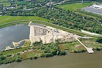 Kreetsand: EUROPA, DEUTSCHLAND, HAMBURG 19.05.2020:   Tiedeelbe Konzept Kreetsand, Hamburg Port Authority (HPA), soll auf der Ostseite der Elbinsel Wilhelmsburg zusaetzlichen Flutraum für die Elbe schaffen. Das Tidevolumen wird durch diese strombauliche Massnahme vergroessert und der Tidehub reduziert. Gleichzeitig ergeben sich neue Moeglichkeiten für eine integrative Planung und Umsetzung verschiedenster Interessen und Belange aus Hochwasserschutz, Hafennutzung, Wasserwirtschaft, Naturschutz und Naherholung.