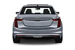 Straight rear view of 2019 Cadillac CT6 Platinum 4 Door Sedan Rear View  stock images