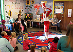 "Ryan Walker, 13, the soldier doll from the ""Peanutcracker The Story in a Nutshell"" performs Thursday during Storytime at the Carson City Library. Performances by the Sierra Nevada Ballet will run Friday, Dec. 2 at 10 a.m. and 12:30 p.m. for school groups and 2:30 p.m. and 7 p.m. for the general public. For more information, see www.SierraNevadaBallet.com..Photo by Cathleen Allison/Nevada Photo Source"