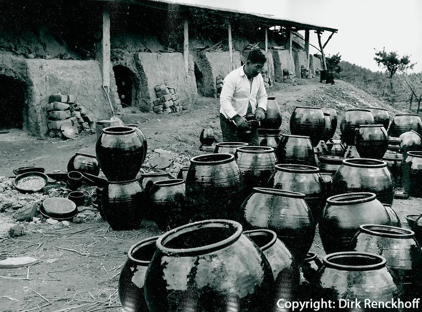 Töpferei in Inchon, Korea 1977