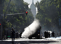 severe riots  while the Congress was discussing modifications in a  retirement law.
