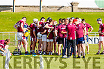 Causeway during half time of the Kerry County Senior Hurling Championship Final match between Kilmoyley and Causeway at Austin Stack Park in Tralee