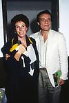 """ORNELLA VANONI CON  MASSIMO RANIERI - PRIMA """"MEMORIE DI ADRIANO"""" VILLA ADRIANA 1989"""