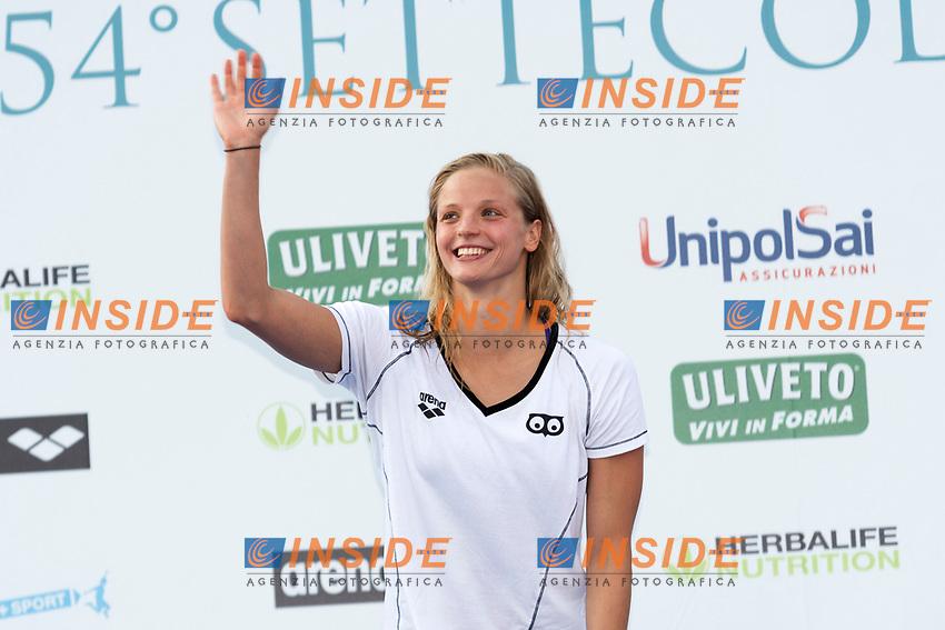 Simona BAUMRTOVA CZE Women's 100m Backstroke <br /> Roma 24-06-2017 Stadio del Nuoto Foro Italico <br /> FIN 54mo Trofeo Sette Colli 2017 Internazionali d'Italia<br /> Photo Andrea Staccioli/Deepbluemedia/Insidefoto