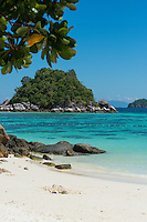 White sand of Sunrise beach and Andaman sea, Ko Lipe, Thailand