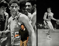 Coach: The Untold Story of College Basketball Legend Al McGuire, at the Haid Theatre on the Belmont Abbey College.