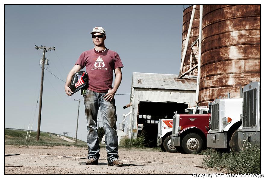 Texas-Route 66<br /> Portrait<br /> Amarillo