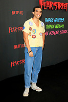 LOS ANGELES - JUN 28:  Adam Faison at Netflix's Fear Street Triology Premiere at the LA STATE HISTORIC PARK on June 28, 2021 in Los Angeles, CA