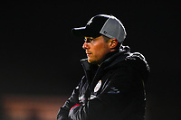 headcoach Angelo Gaytant of Zulte-Waregem pictured during a female soccer game between Sporting Charleroi and SV Zulte-Waregem on the 12 th matchday of the 2020 - 2021 season of Belgian Scooore Womens Super League , friday 29 th of January 2021  in Marcinelle , Belgium . PHOTO SPORTPIX.BE | SPP | DAVID CATRY
