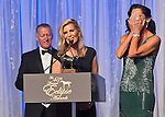 January 16, 2016 : Sheila Rosenblum reacts to Trainer Linda Rice's comments after La Verdad earns the award for Champion Filly & Mare Sprinter at the 2015 Eclipse Awards Ceremony in the Sport of Kings Ballroom at Gulfstream Park in Hallandale beach, Florida.  Scott Serio/ESW/CSM