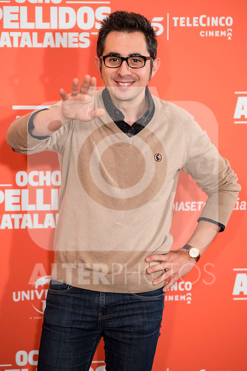 "Spanish actor Berto Romero during the presentation of the film ""Ocho Apellidos Catalanes"" in Madrid, November 17, 2015.<br /> (ALTERPHOTOS/BorjaB.Hojas)"