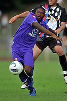 """Amiud SALUFU (Fiorentina).Fiorentina Vs Gavorrano.Football Calcio gara amichevole 2011/2012.San Piero a Sieve 3/8/2011 Centro Sportivo """"San Piero a Sieve"""".Foto Insidefoto Alessandro Sabattini"""